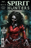 Spirit Hunters #10 Ghost Dead Lady Old Wooden House Torn Red Dress Scary Monster