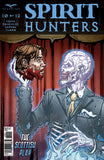 Spirit Hunters #10 Decapitation Ghost Holding Man's Head Evil Scary Spooky Horror
