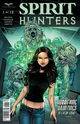 Spirit Hunters #1 Spirits Attack Haunting Ellen Comic Book Cover Art