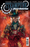 Grimm Fairy Tales Steampunk: Alice In Wonderland Mad Hatter Johnny Covered In Blood Evil Scary Fire