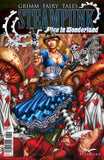 Grimm Fairy Tales Steampunk: Alice In Wonderland Cinderella  Mushroom Forest Goggles Gun Fighting Card Troopers
