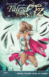 Tales from Oz Volume 2 Dorothy Witch Queen Magic Energy Leaves Flying Comic Book Cover Art