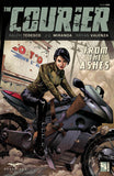 The Courier #1 Eve Motorbike Destroyed City Leather Jacket Dust Ashes Apocalypse