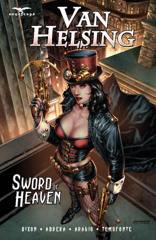 Van Helsing Sword of Heaven Graphic Novel