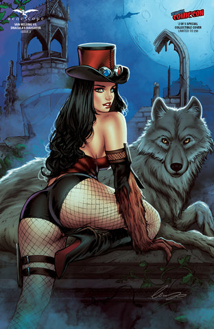 Van Helsing vs. Dracula's Daughter #2 - Cover G - LE 250