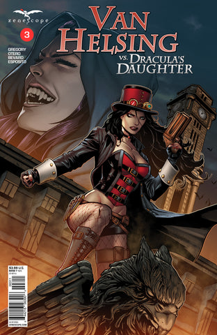 Van Helsing vs. Dracula's Daughter #3