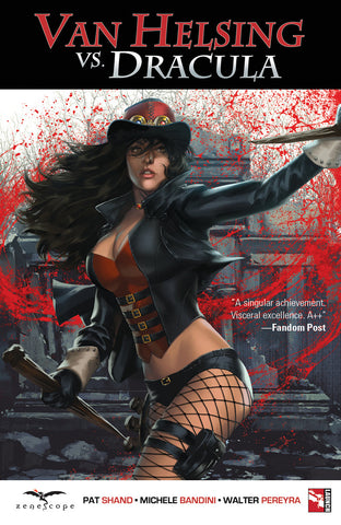 Van Helsing vs. Dracula Graphic Novel