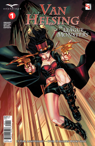 Van Helsing vs. The League of Monsters #1