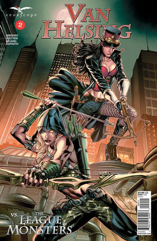 Van Helsing vs. The League of Monsters #2