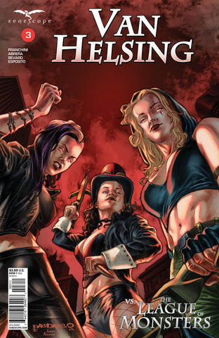 Van Helsing vs. The League of Monsters #3