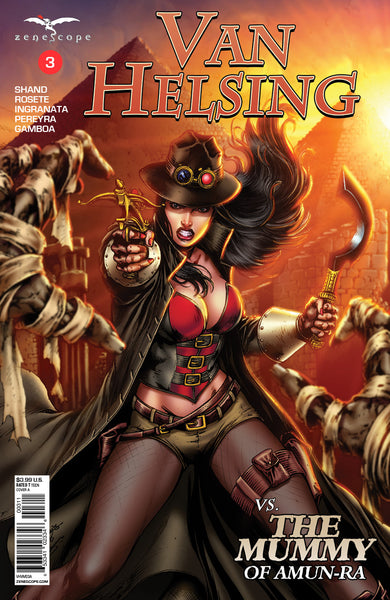 Van Helsing vs. The Mummy of Amun-Ra #3
