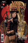 Van Helsing vs. The Mummy of Amun-Ra #6 C Juan Carlos Rodriguez Girl Mummy Sarcophagus Van Helsing Crossbow