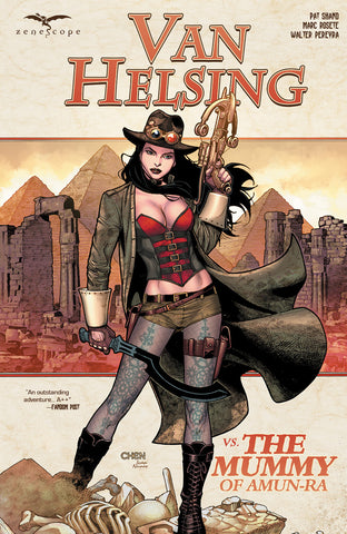 Van Helsing vs. The Mummy of Amun-Ra Graphic Novel
