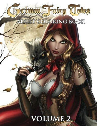 Grimm Fairy Tales Vol. 2 Adult Coloring Book