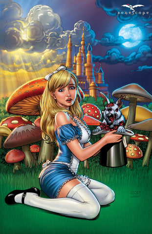 Wonderland: Down The Rabbit Hole #4 - Cover A Art Print