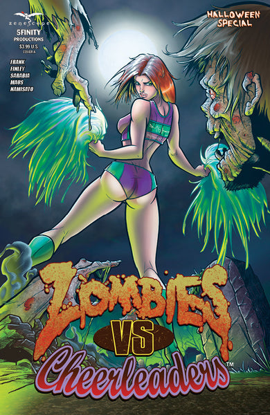Zombies vs. Cheerleaders Halloween Special #1 - Cover A