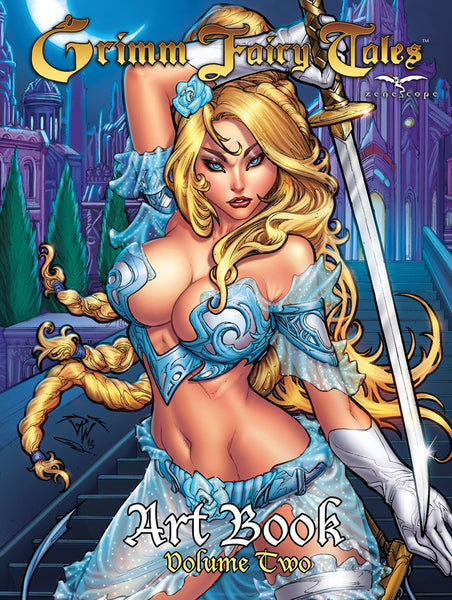 Grimm Fairy Tales Art Book #2