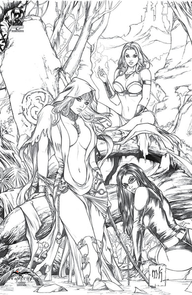 Grimm Fairy Tales: Quest #2 - Cover E