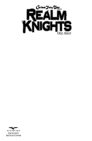 GFT Realm Knights One-Shot Sketch Cover