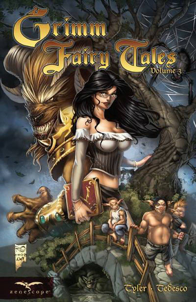 Grimm Fairy Tales Volume 3 (Original Cover)