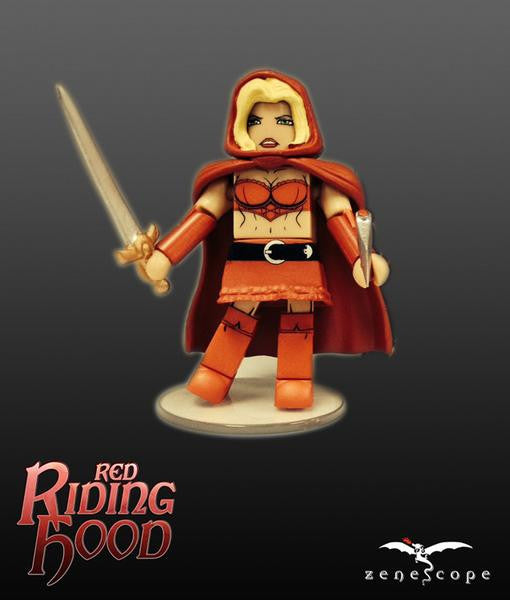 Minimates - Red Riding Hood Figure (SALE)