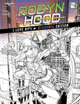 Robyn Hood: I Love NY #1 Coloring Book