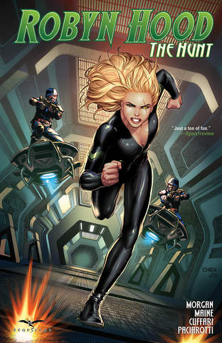 Robyn Hood: The Hunt Graphic Novel