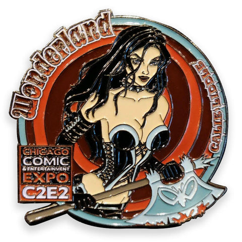C2E2 Collectible Pin