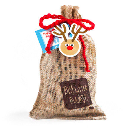 Holiday Burlap Sack