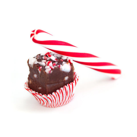 'Little Naughtys' Chocolate Peppermint Fudge Gift Tin