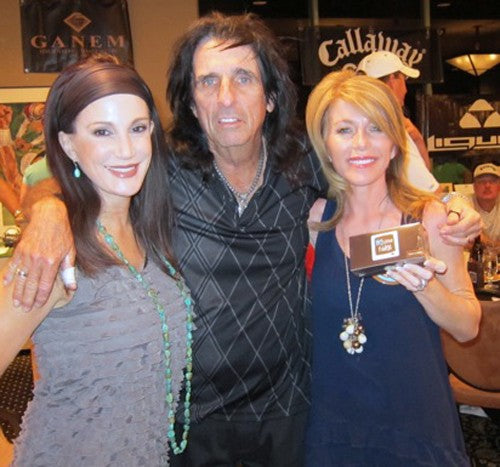 Sheryl Cooper, Alice Cooper and Cindy Gombert