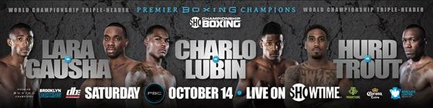 Former Title Challenger Tony Harrison Returns to Action to Take on Mexico's Paul Valenzuela Jr. Saturday, October 14 from  Barclays Center in Brooklyn