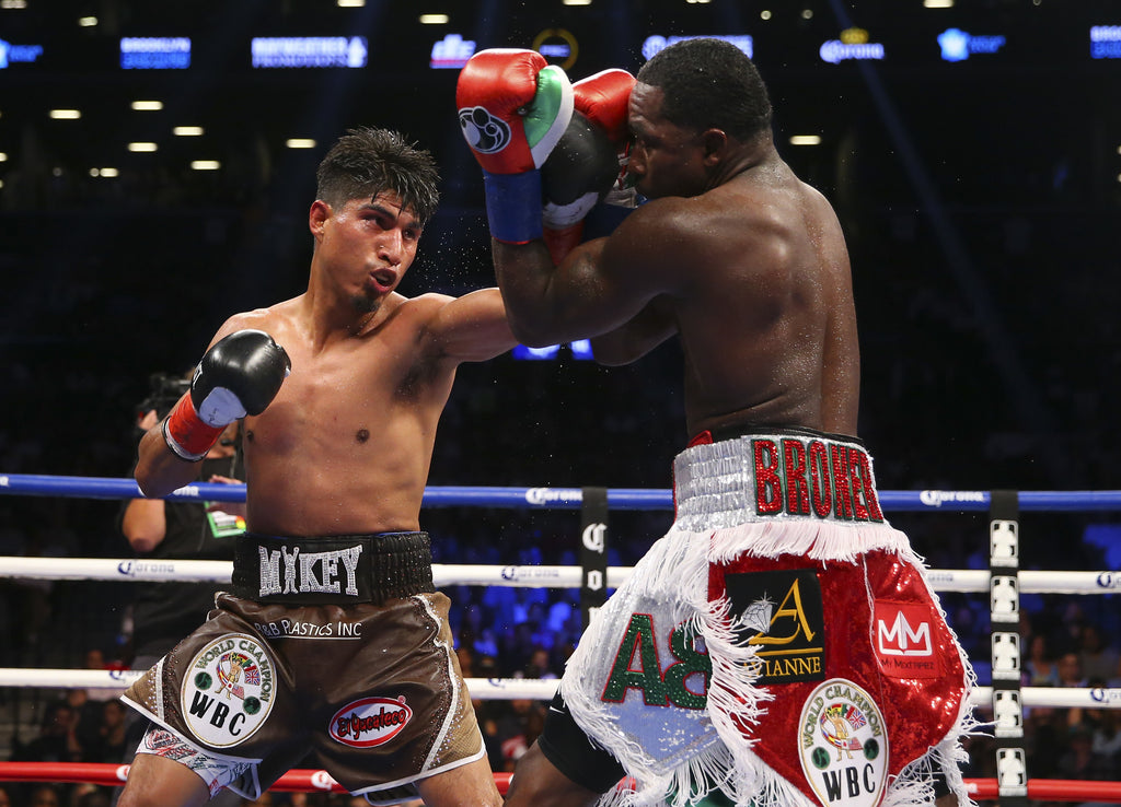 MIKEY GARCIA MAKES A STATEMENT WITH DOMINANT VICTORY AT BARCLAYS CENTER