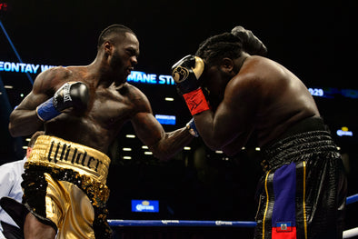 WILDER RETAINS HEAVYWEIGHT BELT WITH FIRST-ROUND KNOCKOUT OF STIVERNE