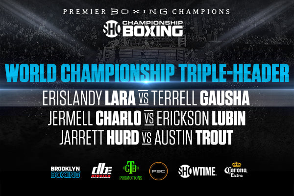 THREE 154-POUND WORLD CHAMPIONS DEFEND IN HIGH STAKES SHOWTIME CHAMPIONSHIP BOXING® TRIPLEHEADER SATURDAY, OCTOBER 14 LIVE ON SHOWTIME® FROM  BARCLAYS CENTER IN BROOKLYN