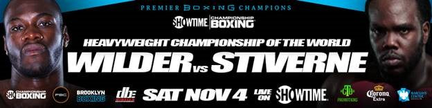Top Heavyweight Contender Dominic Breazeale Will Take on Eric Molina on the Undercard of the  Deontay Wilder vs. Bermane Stiverne  Heavyweight Championship Showdown  at Barclays Center on Nov. 4