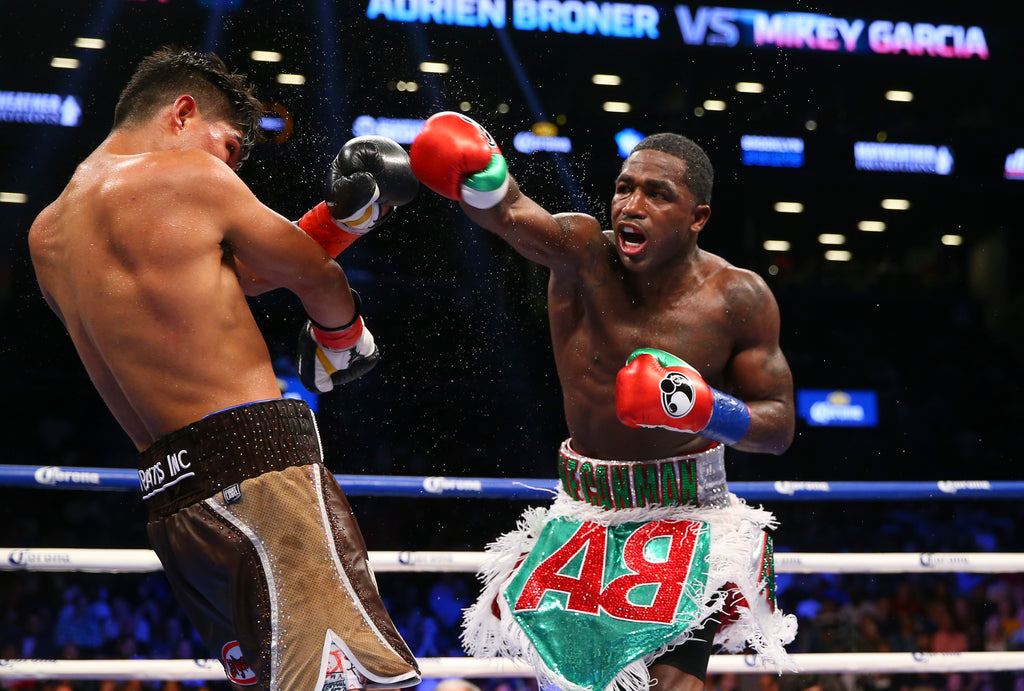 ADRIEN BRONER VS. JESSIE VARGAS TO LEAD APRIL 21 BROOKLYN BOXING TRIPLEHEADER