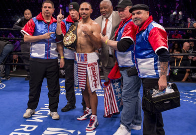 KEITH THURMAN RETAINS WELTERWEIGHT TITLE IN RING RETURN