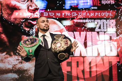 ADD KEITH THURMAN, JERMALL CHARLO AND HUGO CENTENO JR. TO BROOKLYN BOXING'S GROWING 2018 SLATE
