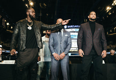DEONTAY WILDER VS. DOMINIC BREAZEALE NEW YORK PRESS CONFERENCE