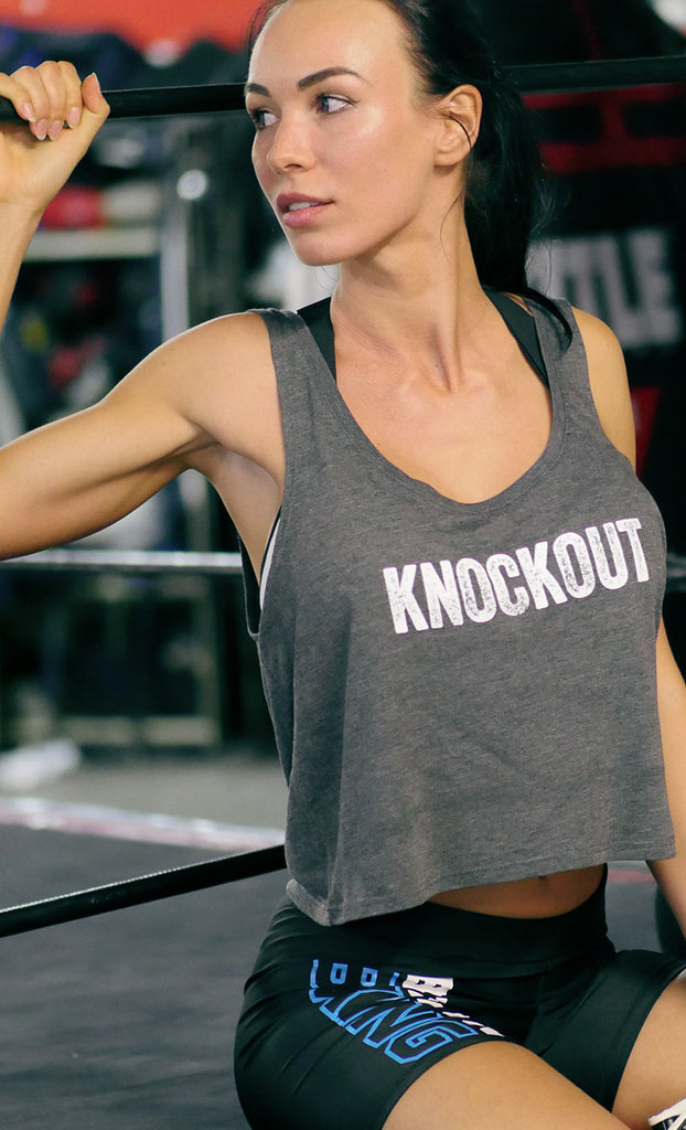 Women's Knockout Flowy Boxy Tank Top