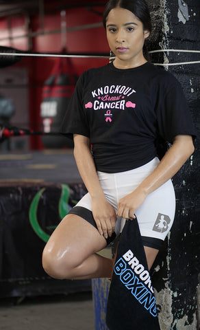 Women's Knockout Breast Cancer Tee