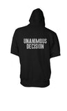 Men's Unanimous Decision Zip-Up Short Sleeve Hoodie