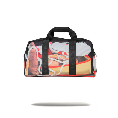 Sprayground Muhammad Ali Stuffed Duffle Bag