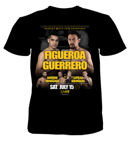 Pre-Order The Official Figueroa vs. Guerrero Fight Shirt