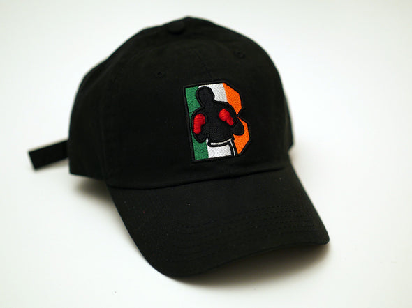 Ireland Logo Dad Hat - Black