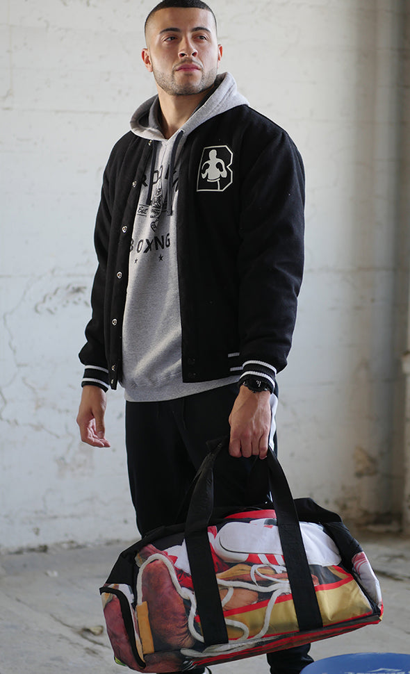 Brooklyn Boxing Reversible Letterman Jacket
