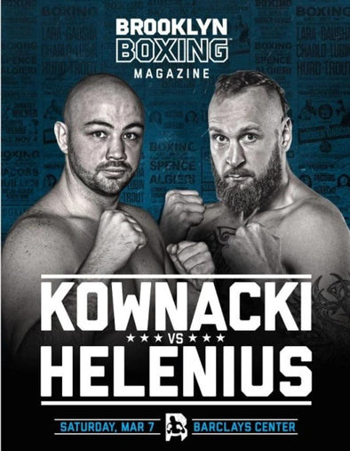 Kownacki vs Helenius Program