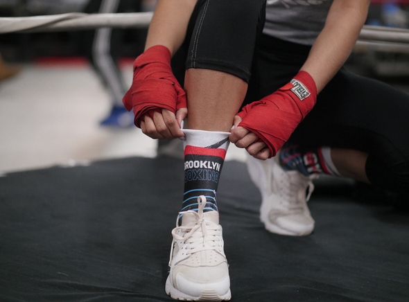 Brooklyn Boxing X Gleason's Gym Graphic Socks