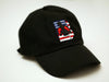 Stars and Stripes Logo Dad Hat - Black